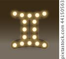 Gemini Zodiac sign Incandescent light bulb box 44150563