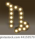 Capricorn Zodiac sign Incandescent light bulb box 44150570