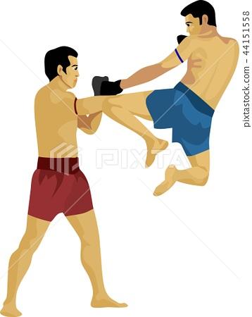 Muay Thai Thailand Martial Art 44151558