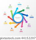 infographic, timeline, option 44152207
