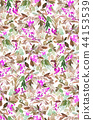 seamless, pattern, watercolor 44153539