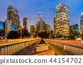 Los Angeles Downtown Sunset 44154702