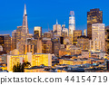 San Francisco downtown skyline 44154719