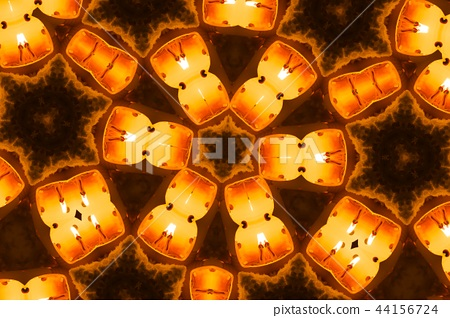 Aizu picture candle 44156724