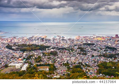 Otaru, Hokkaido, Japan Town Skyline 44157064