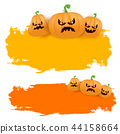 halloween pumpkin background 44158664