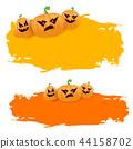 halloween pumpkin background 44158702