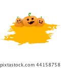 halloween pumpkin background 44158758