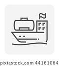 gas shipping icon 44161064