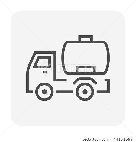oil truck icon 44161065