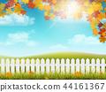 autumn, rural, fence 44161367