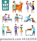 Vet Doctors And Animals Set 44162056
