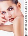 face makeup woman 44165317
