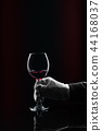 wine hold sommelier 44168037
