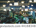 Emails with aerial view of Tokyo, Japan 44168348