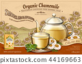 Organic chamomile tea ads 44169663