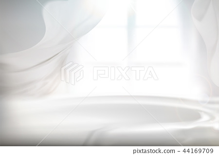 Cozy bright interior background 44169709