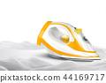 Iron and chiffon textile 44169717