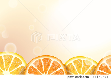 Citrus sections background 44169753