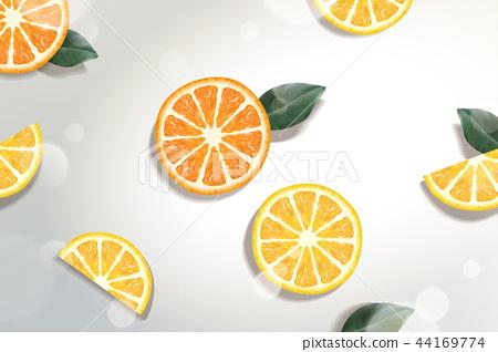 Refreshing citrus background 44169774
