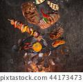 fire, flames, chicken 44173473