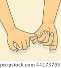 เวกเตอร์,มือ,สัญญา 44173705