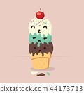 Doodle  tasty ice cream cone 44173713