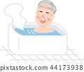 老人沐浴适当的温度 44173938