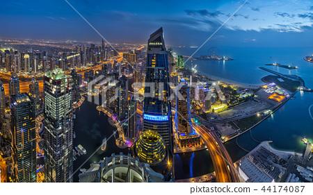 city, skyscraper, bay 44174087