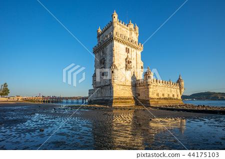 belem tower in belem district of lisbon 44175103