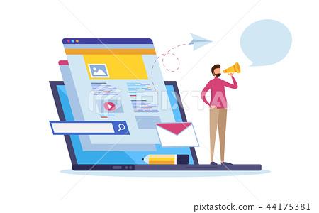 Online news, Web page information, Social media. 44175381