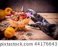 Happy Halloween. Werewolf or zombie hands 44176643