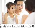父母和小孩 親子 爸爸 44176986