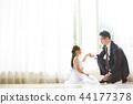 女兒和父親穿著一件衣服 44177378