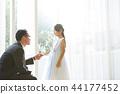 女兒和父親穿著一件衣服 44177452