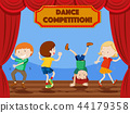 Children dance competition scene 44179358