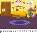 Interior of childs bedroom 44179376