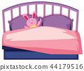 A cute children bed 44179516