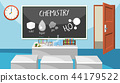 Interior of chemistry classroom 44179522