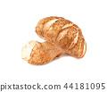 single mushroom on white background 44181095
