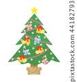 크리스마스 트리 44182793