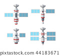 satellite, vector, icon 44183671