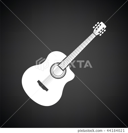 Acoustic guitar icon 44184021