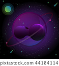 Illusion planet creativity abstract background 44184114