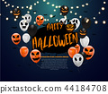 Halloween Carnival Background 44184708