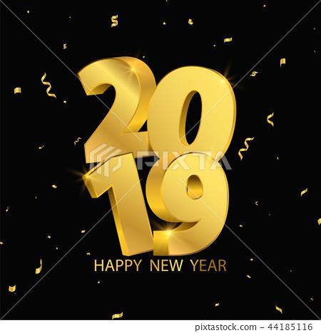 Happy New Year 2019 44185116