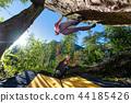 Bouldering practice. climbing  44185426