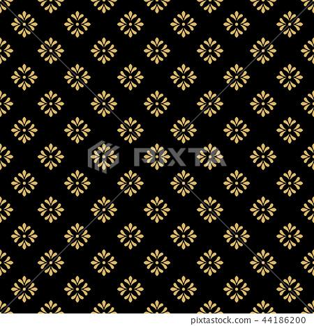 Flower geometric pattern. Seamless vector  44186200