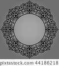 Decorative frame Elegant vector element for design 44186218
