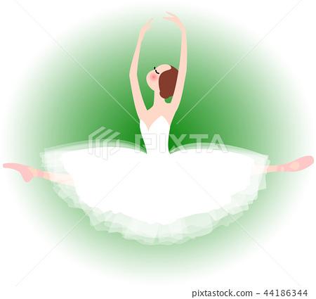 芭蕾芭蕾舞女演員giselle童話跳 44186344